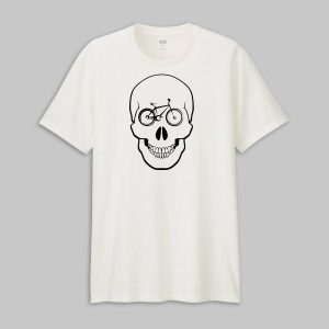 Tricou Bicycle Skull