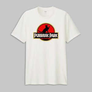 Tricou Purrasic Park Red