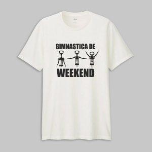 Tricou Gimnastica De Weekend